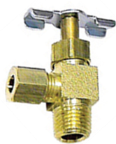 Compression x Male NPT 90 Needle Valve